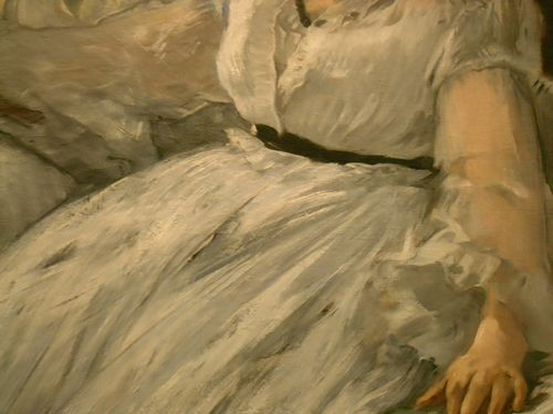 Detail of Manet's Painting