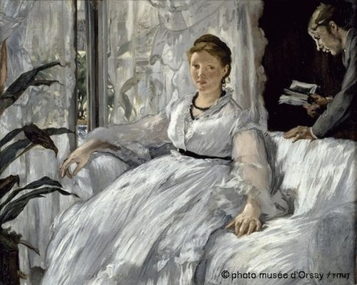 The Lecture by Edoard Manet
