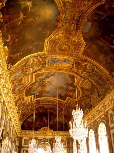 Ceiling, Hall of Mirrors