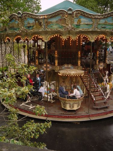 The Carousel in Montmartre