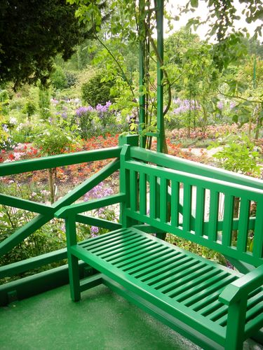 Monet's Front Porch