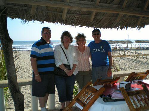 Bob, Donna, Jan and Chuck